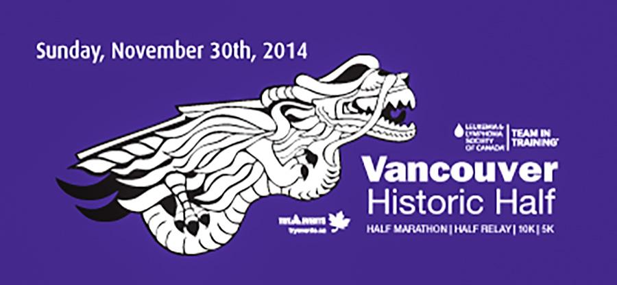 ALETE on location at Vancouver Historic Half Marathon